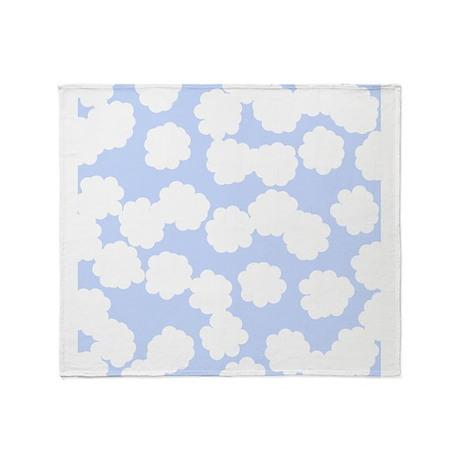 Cloud Pattern. Throw Blanket
