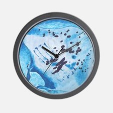 Manta Ray- God's Creatures Wall Clock