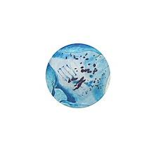 Manta Ray- God's Creatures Mini Button