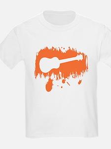 Orange Uke Splat T-Shirt