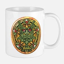 Hawthorn Celtic Greenman Pentacle Mug