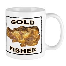 GOLD FISHER Mug