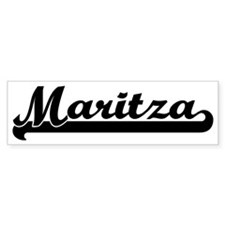 Black jersey: Maritza Bumper Bumper Sticker