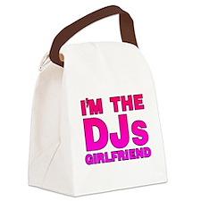 I'm The DJs Girlfriend Canvas Lunch Bag