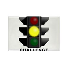 Challenge Accepted Funny T-Shirt Rectangle Magnet