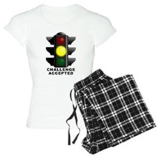 Challenge Accepted Funny T-Shirt Pajamas
