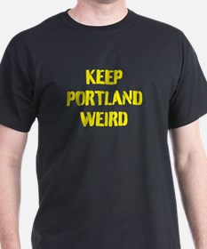 keep portland weird t shirts shirts tees custom keep