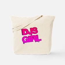 DJs Girl Tote Bag