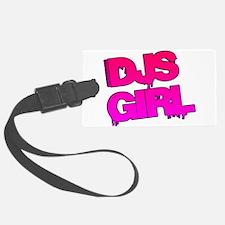 DJs Girl Luggage Tag