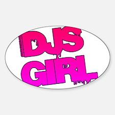 DJs Girl Decal