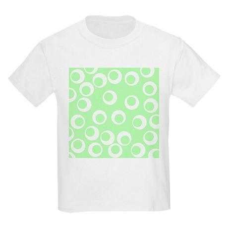 Ring pattern mint green kids light t shirt ring pattern for Mint color t shirt