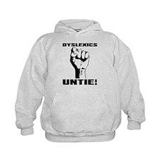 Dyslexia Dyslexics Untie Funny T-Shirt Hoodie