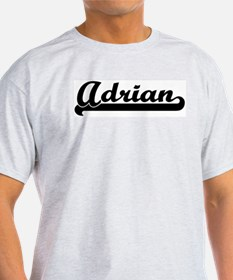 Black jersey: Adrian Ash Grey T-Shirt