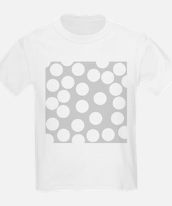 Dot Pattern, Gray. T-Shirt