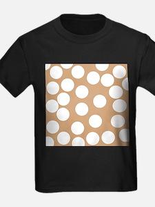 Dot Pattern, Brown. T