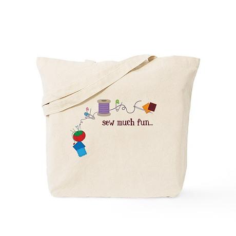 Sew Much Fun Tote Bag