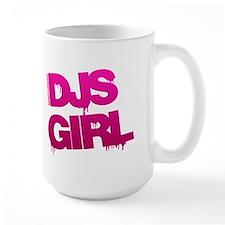 DJs Girl Pink Mug
