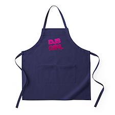 DJs Girl Pink Apron (dark)