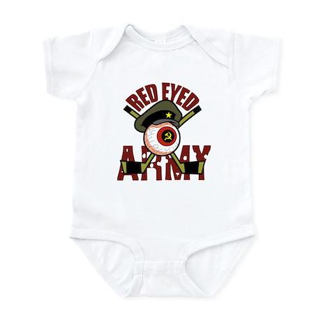 Red Eyed Army Infant Bodysuit