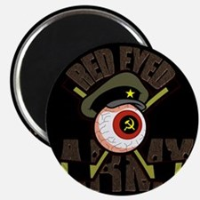 Red Eyed Army Magnet