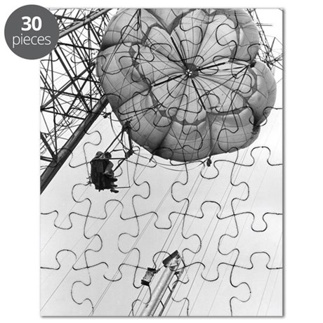 Coney Island Parachute Jump-1822997.bw.jpg Puzzle