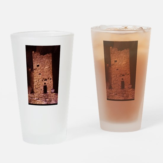 a hsitoric native American Pueblo Drinking Glass