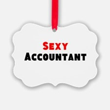 Sexy Accountant Ornament