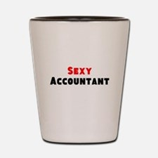 Sexy Accountant Shot Glass