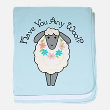 Have You Any Wool baby blanket
