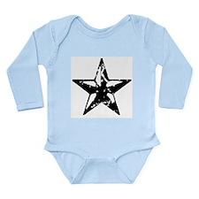 Vintage Star Long Sleeve Infant Bodysuit