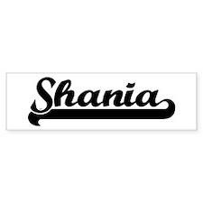 Black jersey: Shania Bumper Bumper Sticker