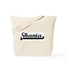 Black jersey: Shania Tote Bag