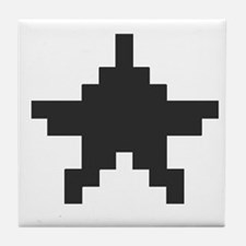 Old School Star Tile Coaster
