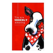 Udderly Amazing Funny Cow Postcards (Package of 8)
