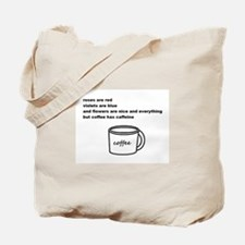 Ode to Coffee Tote Bag