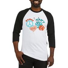 Peace Love Knit Baseball Jersey
