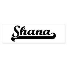 Black jersey: Shana Bumper Bumper Sticker