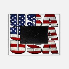 USA USA USA 4th July Picture Frame