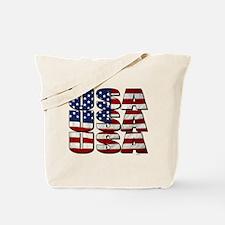 USA USA USA 4th July Tote Bag