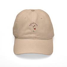 Girls Lacrosse Red Baseball Cap