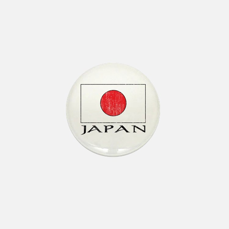 Japan Flag Mini Button