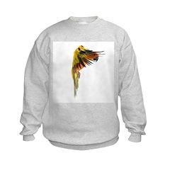 Sun Conure in flight Steve Duncan Sweatshirt