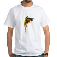 Sun Conure in flight Steve Duncan Shirt