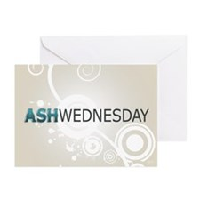 Ash Wednesday Greeting Cards (Pk of 10)