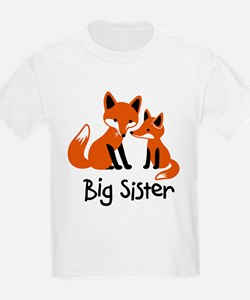 Big Sister - Mod Fox T-Shirt