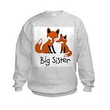 Big Sister - Mod Fox Sweatshirt