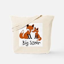 Big Sister - Mod Fox Tote Bag