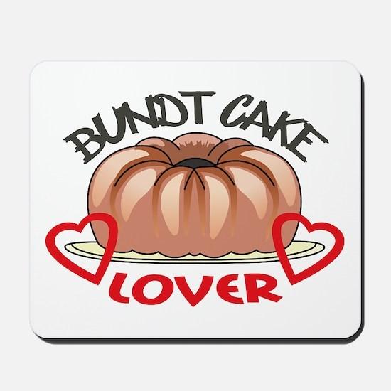 Bundt Cake Lover Mousepad