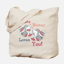 Some Bunny Loves You Tote Bag