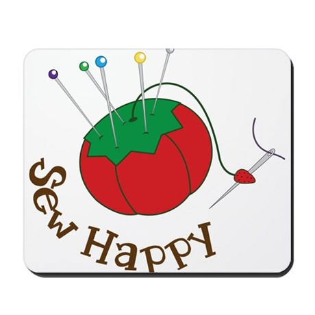 Sew Happy Mousepad